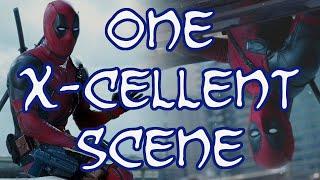 One X-Cellent Scene - Deadpool Makes A Splash