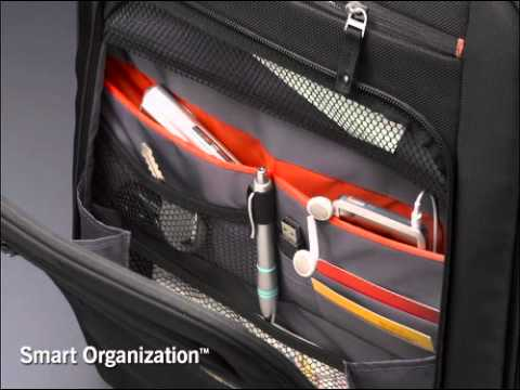 Case Logic Rolling Laptop and Projector Case (ZLRP-117 and ZLRS-117)