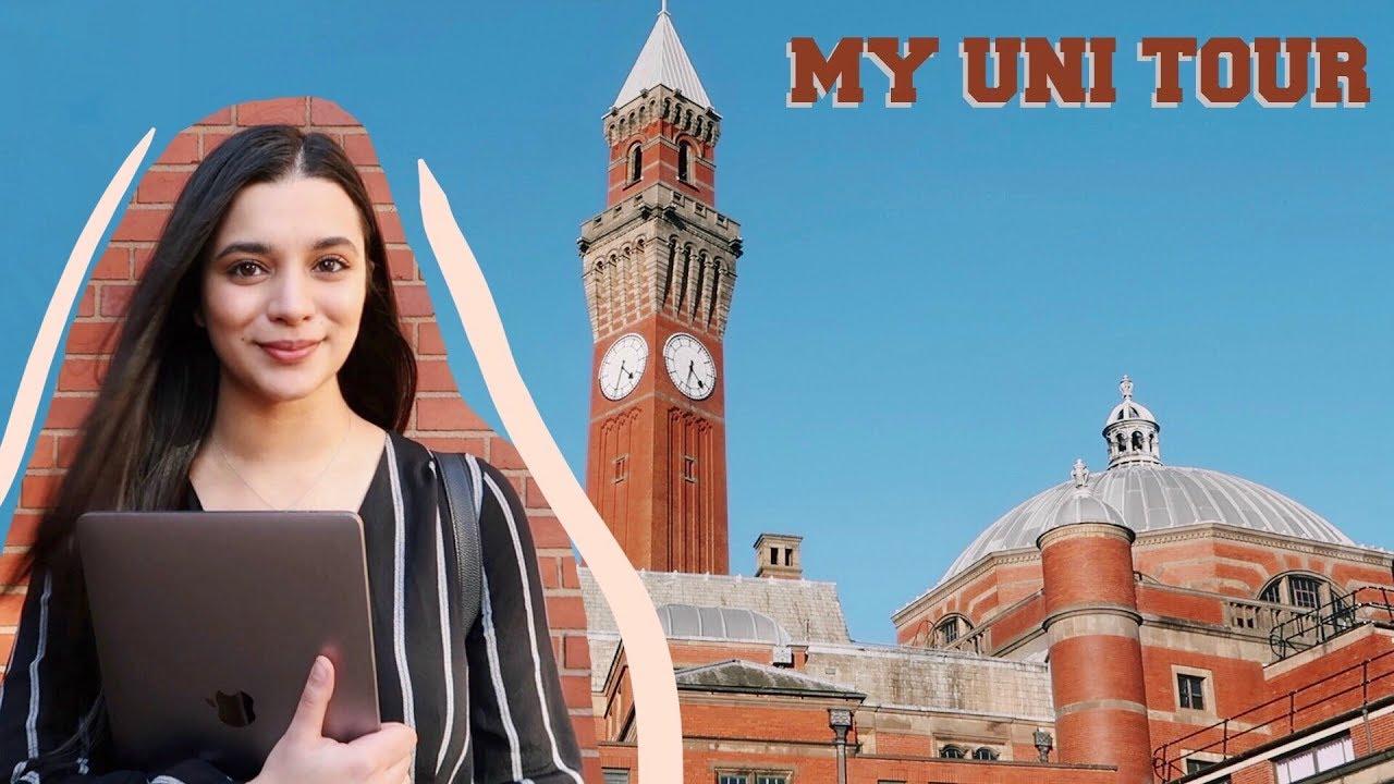 My University Tour | University of Birmingham | Athisha Khan