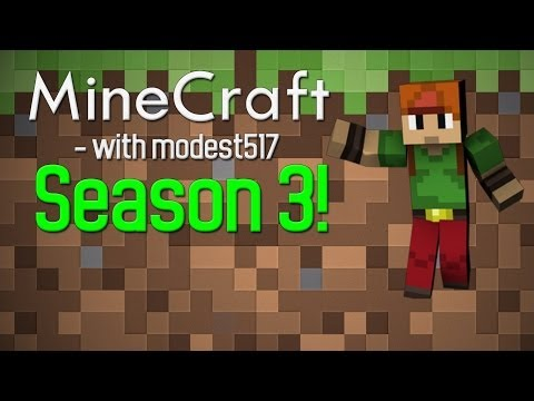 Minecraft With Modest517! - S3 EP06 - Awesome Blacksmith!