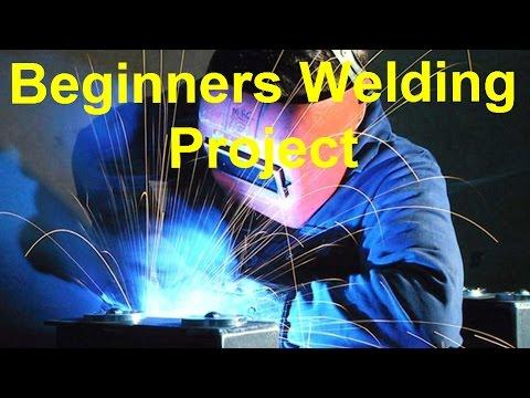 Super Easy Beginner's Welding Project... Plus, Longevity 140 mig welder reviews