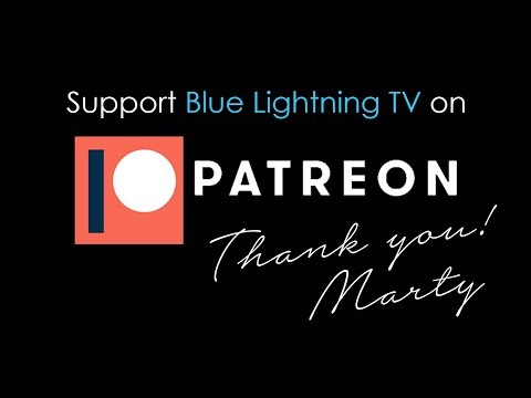 Become a Patron to Blue Lightning TV.
