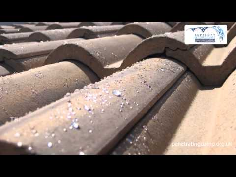 superDRY - an invisible barrier against moisture and self cleaning roof tiles