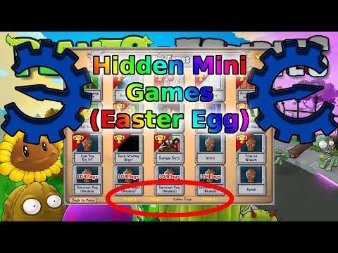 How to unlock the Hidden Minigames (Secret Levels) | Plants vs Zombies | Tutorial #3