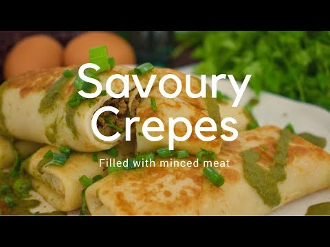 SAVOURY MINCED MEAT CREPES