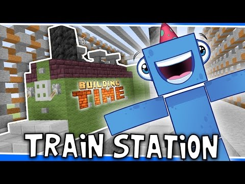 Minecraft Xbox - TRAIN STATION!! - Building Time! [#34]
