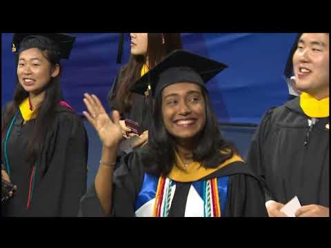 Wharton Undergraduate Graduation Ceremony 2018