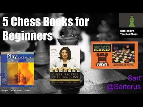 5 Chess Books for Beginners by Sart