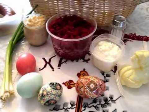 Ukrainian Easter Basket Tutorial