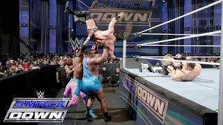 Dolph Ziggler, Neville, Goldust & R-Truth vs. The New Day & The Miz: SmackDown, January 7, 2016