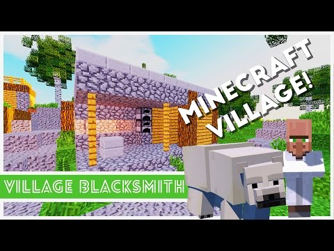 Minecraft - How To Make A Village Blacksmith