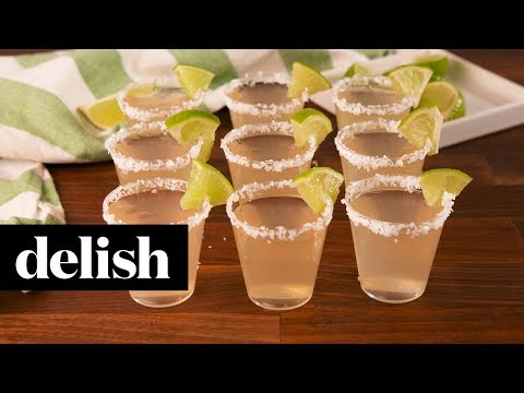 Margarita Jello Shots | Delish
