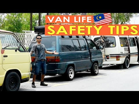 S2 EP7 | TOP 10 SAFETY TIPS FOR CAMPERVAN TRAVEL