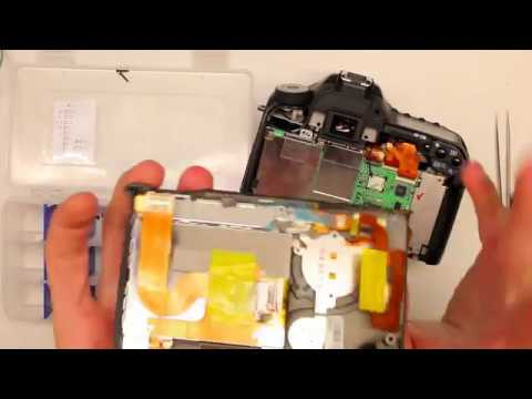 Canon 50D Disassembly - Shutter Button Replacement