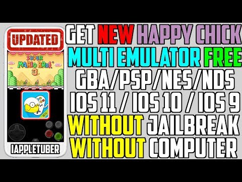 How To Install Happy Chick Multi Emulator + Games FREE (NO Jailbreak NO Computer) iPhone/iPad/iPod