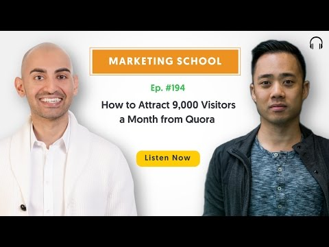 How to Attract 9,000 Visitors a Month from Quora | Ep. #194