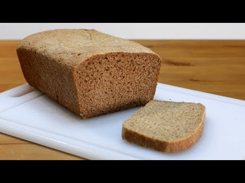 How to Make Whole Wheat Bread | Easy Homemade Whole Wheat Bread Recipe