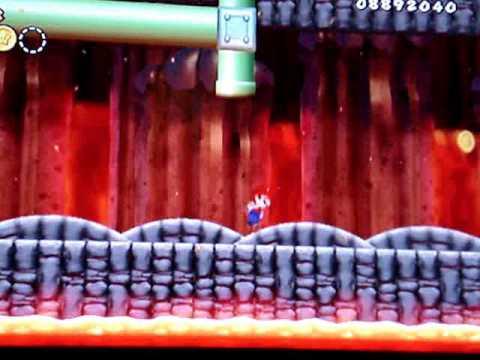 Super Mario Bros Wii Unlocking Shortcut to level 8-7