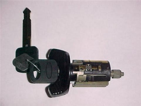 How-to Replace the Ignition Lock Cylinder 1997 Ford F250 5.4L 4x4