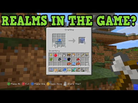 Minecraft Xbox 360 + PS3 - REALMS & Other Secrets at Minecon?