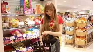 Taylor - Shopping at PLAZA GINZA