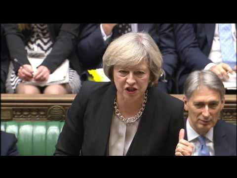 Prime Minister's Questions: 16 November 2016