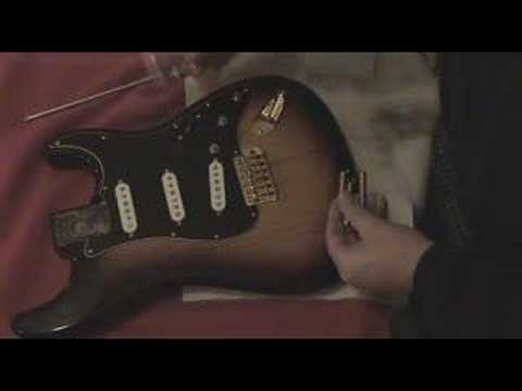 Build an SRV Stratocaster Part 9: Install Tremolo Bridge