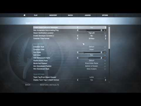How To Disable Switch Weapon on Pick Up In CS GO