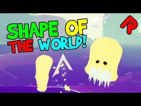SHAPE OF THE WORLD gameplay: Explore a Chaotic Ecosystem! (PC, Switch, Xbox, PS4 game)
