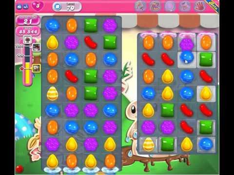 Candy Crush Saga Level 70