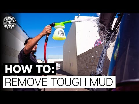 How To Get Rid Of Stubborn Mud! - Toyota 4Runner - Chemical Guys