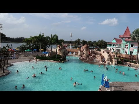 Walt Disney World Caribbean Beach Resort | Resort Tour With Construction & Temporary Food Locations