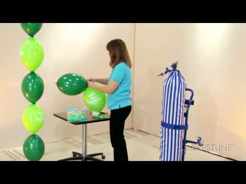 How to Make a Balloon Arch by Crestline Item #110494