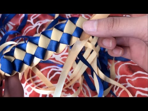 How to Make Ribbon Leis with Two Ribbons