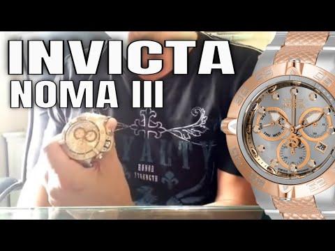Invicta Watches Review : Invicta Subaqua Noma III Watch