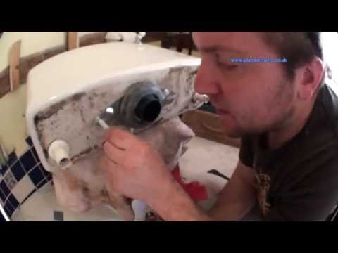 How to Change a Toilet Flush or Syphon Unit - Plumbing Tips