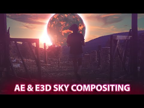 After Effects || Element 3D ||Sky Compositing|| YouTube||NPS3D
