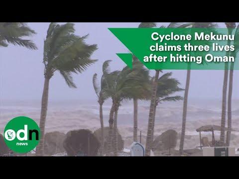 Cyclone Mekunu claims three lives after hitting Oman