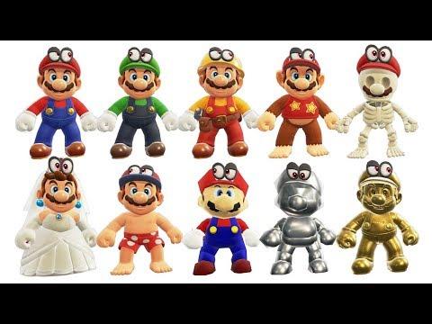 Super Mario Odyssey - All Costumes