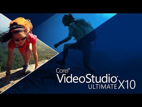 Corel VideoStudio Ultimate X10 2017 Video Editing tutorial 1