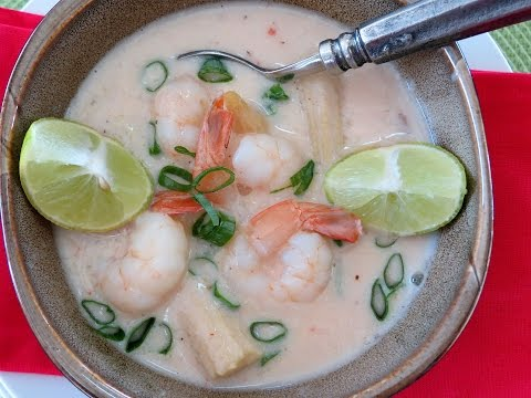 Shrimp Soup with Coconut Milk -- The Frugal Chef