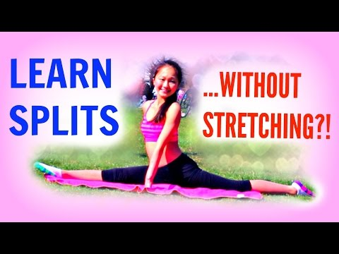 How To Get SPLITS - WITHOUT STRETCHING?!