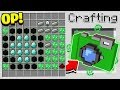 HOW TO CRAFT A 1000000 MOVIE OVERPOWERED Minecraft 113 Crafting Recipe