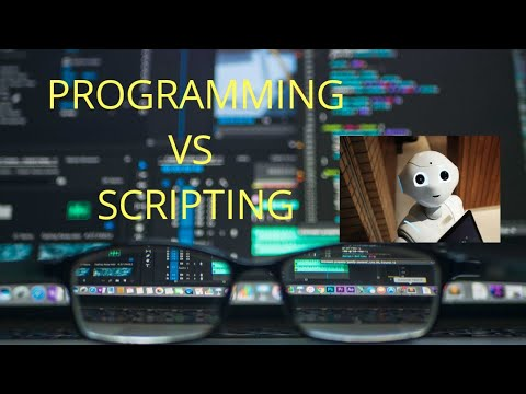 Difference Between Programming and Scripting Languages -Part1