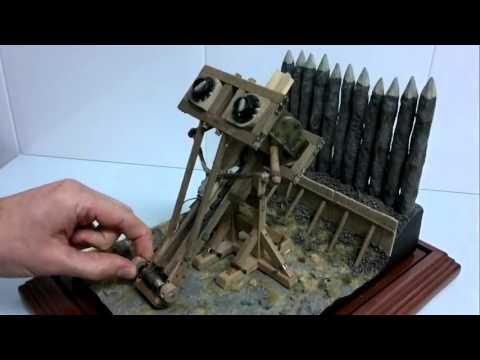 Siege machines 2: Roman Catapult
