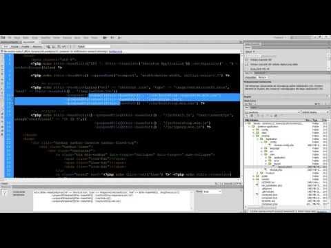 Kurs Zend Framework: Edycja strony frontowej
