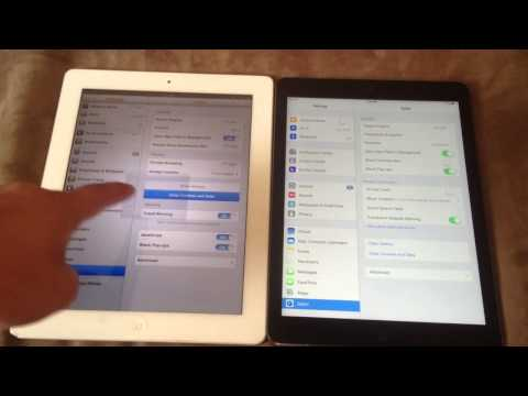Boring.  How to Clear Safari Browser Cache on Apple Ipad 2 (6.1.3) or Ipad Air (7.0)