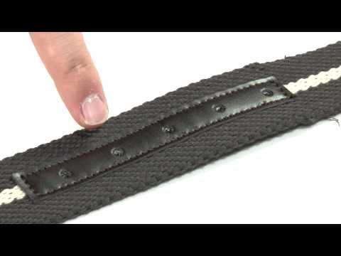 Canvas Brown Belt