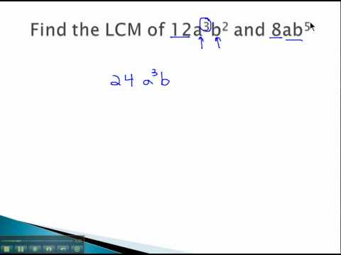 LCM - LCM with Variables