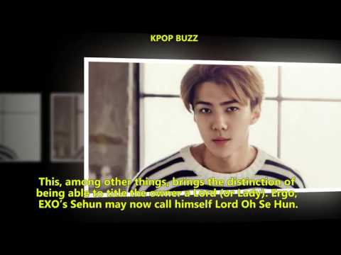 EXO NEWS Chinese Fans Purchase Land in Scotland for EXO Sehun's Birthday